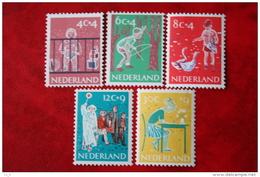 Kinderzegels, Child Welfare Kinder Enfant NVPH 731-735 (Mi 739-743) 1959 POSTFRIS / MNH ** NEDERLAND / NIEDERLANDE - 1949-1980 (Juliana)