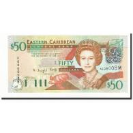 Etats Des Caraibes Orientales, 50 Dollars, Undated (2003), KM:45m, NEUF - Caraïbes Orientales