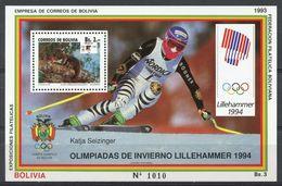 BOLIVIA - LILLEHAMMER 1994 WINTER OLYMPIC GAMES  O431 - Winter 1994: Lillehammer