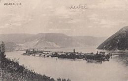 CPA ADA KALEH DANUBE ISLAND, SUBMERGED FOR THE IRON GATES WATER POWER PLANT, PANORAMA - Romania