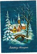Wenskaart, Gelukkig Nieuwjaar, Happy New Year  (pk35455) - Nouvel An