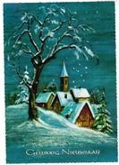 Wenskaart, Gelukkig Nieuwjaar, Happy New Year  (pk35456) - Nouvel An