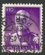 Portugal, 10 C. 1945, Sc # 650, Mi # 681, Used. - 1910-... Republic