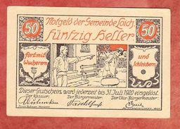 Notgeld, Gemeinde Loich, 50 Heller, 1920 (41520) - Autriche