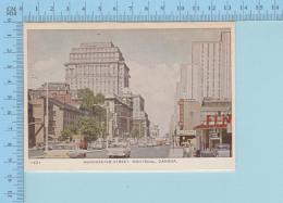 Carte Lettre -Montreal Quebec Canada - 8 Line  Dorchester Street  - 2 Scans - Montreal