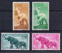 GUINEA ESPAÑOLA  1967. DIA DEL SELLO. FAUNA: ELEFANTES NUEVOS SIN CHARNELA. MNH .CECI  2 Nº 58 - Guinea Española