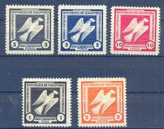 """Colombia, Scott #Unlisted, Mint Hinged, Somos DOVE / PALOMAS.-. """" EXPRESO RIBON """" - PRIVATE CARRIER - Colombie"""