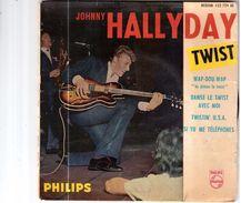 VINYLE DE 1962.JOHNNY HALLYDAY.DANSE LE TWIST AVEC MOI - Collector's Editions