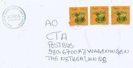 Angola 2004 Luanda Pottery Barcoded Registered Cover - Angola