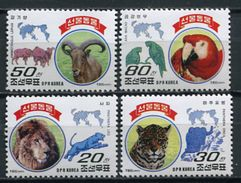 Korea 1997 Corea / Birds Mammals Big Cats MNH Mamiferos Aves Felinos Vögel Säugetiere / Cu4318  40 - Sin Clasificación