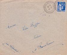 FRANCE - LETTRE CACHET STRASBOURG MOLSHEIM SELESTAT POUR SUNDHOUSE 1937 RARE - France