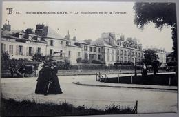 CPA 78 - Saint Germain En Laye - Le Boulingrin Vu De La Terrasse - 1905 - Animée - St. Germain En Laye