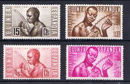 GUINEA ESPAÑOLA 1953. PRO INDIGENAS: MUSICOS INDIGENAS   NUEVOS SIN CHARNELA. MNH .CECI  2 Nº 58 - Guinea Española