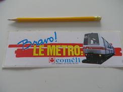 Autocollant - LILLE - METRO - Adesivi