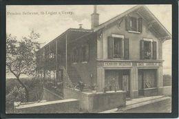 SUISSE...ST-LEGIER S/ VEVEY...PENSION BELLEVUE....CAFE  ET CHOCOLAT...CANTON DE VAUD...C2346 - VD Vaud