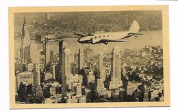 NEW YORK CITY - THE MAINLINER, UNITED AIR LINES - AVION - Non Classés