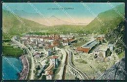 Brescia Valle Camonica Corna Cartolina QK6918 - Brescia