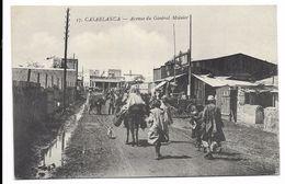CASABLANCA (MAROC) - AVENUE DU GENERAL MOINIER - Casablanca