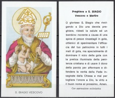 Santi : S. Biagio Vescovo - Santini