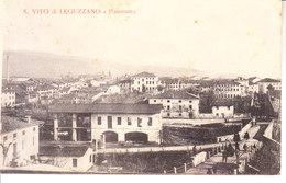 S. VITO LEGUZZANO (vicenza) - Veduta Entrata Paese, (non Comune) Animata, Viag. 1918 - 2017,2- 62 - Autres Villes