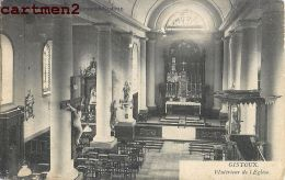 GISTOUX INTERIEUR DE L'EGLISE BELGIQUE 1900 - België