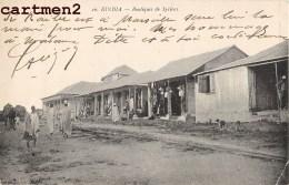 KINDIA BOUTIQUES DE SYRIENS CACHET MILITAIRE BATAILLON DE LA GUINEE AFRIQUE OCCIDENTALE - Guinée Française