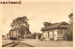 DAHOMEY BOHICON LA GARE BAHNHOF STATION TRAIN AFRIQUE - Dahomey