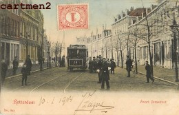 ROTTERDAM ZWART JANSSTRAAT TRAMWAY NEDERLAND 1900 J. ZEEGERS - Rotterdam