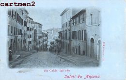 3 CPA : ANCONA ANCONE ITALIA 1900 - Ancona