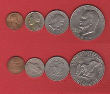 USA  /  Lot De 4 Monnaies - Federal Issues