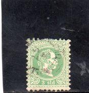 LEVANT 1867 O IMPRESSION GROSSIERE - Oriente Austriaco
