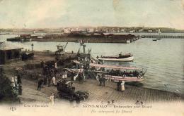 D35  SAINT- MALO  Embarcadère Pour Dinard  ..... - Saint Malo