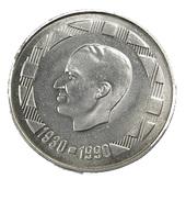 500 Francs - Belgique - (Belgie) - 1990 - Argent - TTB - - 1951-1993: Baudouin I