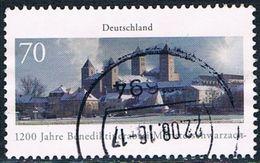 Allemagne Fédérale - 1200e Anniversaire De L'abbaye Bénédictine De Münsterschwarzach 3054 (année 2016) Oblit. - Oblitérés