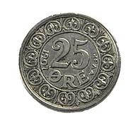 25 Ore - Danemark - Ar.600/00 - 1907 - TB+ - - Dinamarca