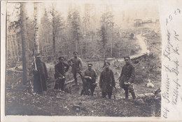 Foto Seilbahn Betriebs Trupp 83 Pioniere Karpathen 1917  Soldaten 1.Weltkrieg - Oorlog, Militair