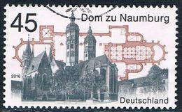 Allemagne Fédérale - Cathédrale Saints-Pierre-et-Paul De Naumbourg 3061 (année 2016) Oblit. - [7] République Fédérale