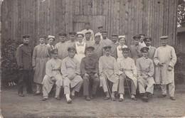 Foto  Oldenburg 1915 Holz-Baracken Lazarett Verwundete Sanitäterdeutsche Soldaten 1.Weltkrieg - Krieg, Militär