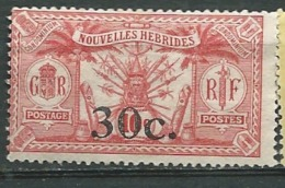 Nouvelles Hébrides   - Yvert N° 74  (*) -- Cw28236 - Nuovi