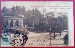 "CPA   ITALIE FIRENZE  FLORENCE "" Piazzale Michelangielo, Loggeta, S.Salvatore Basilique S Miniato  Ed G.Modiano 8848 - Firenze (Florence)"