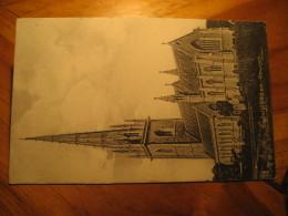 BODELWYDDAN Church Rochdale 1914 Cancel Post Card Flintshire Wales UK GB - Flintshire