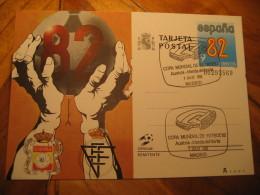 AUSTRIA - NORTH IRELAND Match Stadium Spain 1982 World Championship FIFA Postal Stationery Card Football Futbol Soccer - World Cup