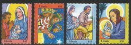 2007 Liberia Christmas Noel Navidad Complete Set Of 4 MNH - Liberia