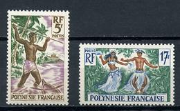 1960 -  POLINESIA FRANCESE - Mi. Nr. 16+18 -  NH - (SAND1176.12) - Nuovi