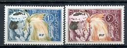 1964 -  POLINESIA FRANCESE - Mi. Nr. 33/34 -  NH - (SAND1176.12) - Polinesia Francese