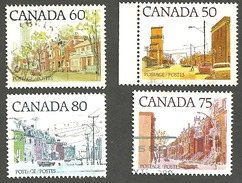 Sc. #723c, 723-25 Street Scene Definitives Med. Value Set Used  1977-82 K635 - 1952-.... Règne D'Elizabeth II