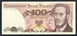 329-Pologne Billet De 100 Zlotych 1982 HH882 - Poland