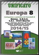 Catalogo UNIFICATO EUROPA Volume 8 - 2014 /15 - USATO (prezzi Segnati), In Buono Stato - RUSSIA - U.R.S.S. - CSI - Italia