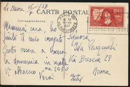 °°° 7324 - FRANCE - 76 - LE HAVRE - PANORAMA - 1937 With Stamps °°° - Le Havre