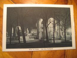 Aus Dem Stadtpark Wien Bei Nacht Vienna Post Card AUSTRIA - Altri